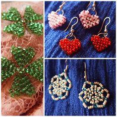 #beads #earrings