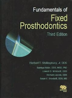 8 best prosthodontics images on pinterest dentistry dental and fundamentals of fixed prosthodontics pdf fandeluxe Gallery