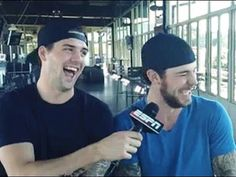 these two are precious. omg. tyler seguin and jamie benn