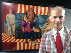 Film director John Waters backstage at The Kessler
