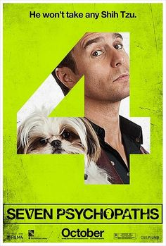 Seven Psychopaths character posters.