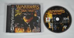 Warriors of Might and Magic Playstation one 1 Complete VG Condition PS1