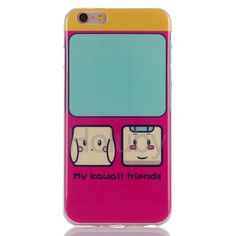 Soft TPU Back Cover Case for iPhone 6 Plus/ 6S Plus - My Kawaii Friends