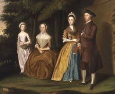 """""""The Wiley Family"""", William Williams, 1771; Smithsonian American Art Museum 2006.12.2"""