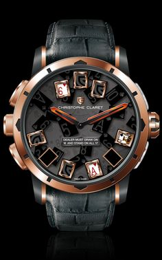 #Christophe Claret 21 BlackJack #Christophe Claret #BlackJack #Gambling
