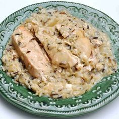 Slow Cooker Chicken and Wild Rice-made this in the oven but would like to try it this way