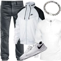 d95c81ed Nike NSW Nylonjacke Outfit für Herren zum Nachshoppen auf Stylaholic