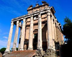 Roman Temple of Antoninus and Faustina - Johnson-Miles photo