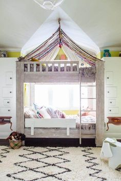 Why buy when there are these 34 diy bunk beds?