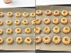 Ciasteczka morelowe - przepis Kugel, Vegetables, Food, Crispy Cookies, Almonds, Oven, Biscuits, Simple, Rezepte