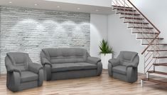 Sedací soupravy | Sedací souprava ROMA 3+1+1 + DOPRAVÍME ZDARMA | Nábytkománie.cz - nabízíme moderní nábytek za lákavé ceny