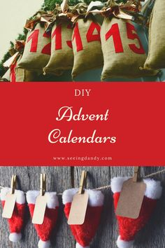 Check out these 21 DIY advent calendars! So many cute ideas to choose from. All perfect for decorating for the holidays and counting down to Christmas. #diy #christmas #holidays #farmhousestyle #farmhousechristmas #christmasdecor #holidaydecor #christmastime #christmasparty