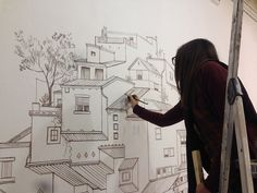 Exclusive Interview: Cinta Vidal Agulló Discusses Her Paintings Of Inverted  Architecture