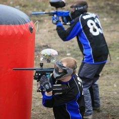 i want to go paint balling!