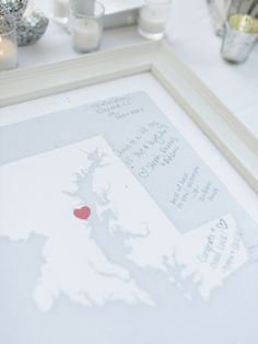 #guest-book  Photography: Krista A. Jones - kristaajones.com  Read More: http://www.stylemepretty.com/2014/11/11/patriotic-backyard-wedding-in-maryland/