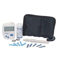 GlucoDr. BioSensor AGM 2100  Rentang test kadar gula darah : 30-600 mg/dL  Hanya memerlukan sedikit darah: 4µL, minimal 2.5µL  Waktu test hanya 11 detik   Kapasitas memory 100 test  Battery: 2 Lithium ion battery (CR2032), DC 6V  Lama battery: ±4000 test  Ukuran 65 x 86.5 x 20 mm  Display 46 x 22 mm LCD  Berat 50gr (termasuk battery)