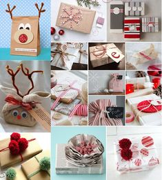 15 Amazing Christmas Gift Wrapping Ideas - http://www.amazinginteriordesign.com/15-amazing-christmas-gift-wrapping-ideas/