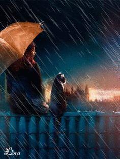 A rainy day Rain Umbrella, Under My Umbrella, Walking In The Rain, Singing In The Rain, Rainy Night, Rainy Days, I Love Rain, Rain Go Away, Rain Art