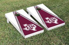 NCAA Texas A&M University Aggies Triangle Cornhole Game Set