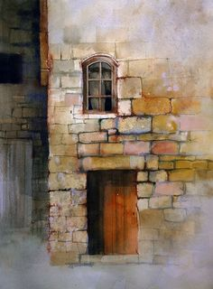 how to paint stone walls Archives - John Lovett - Watercolor Workshop