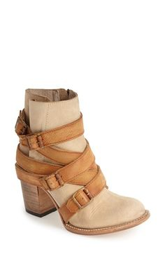 Freebird by Steven 'Hustle' Leather Ankle Boot (Women) available at #Nordstrom