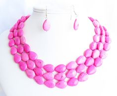 Love this necklace/earring combo!