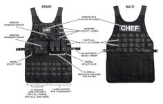 This is a great gift idea!  Father's day is almost here. Father's day gift idea. Battle Tactical Chef Apron