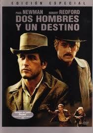 """http://mezquita.uco.es/record=b1612831~S6*spi """"DOS HOMBRES Y UN DESTINO"""". Un grupo de jóvenes pistoleros se dedica a asaltar los bancos del estado de Wyoming y el tren-correo de la Union Pacific. El jefe de la banda es el carismático Butch Cassidy, y Sundance Kid es su inseparable compañero. Un día, después de un atraco, el grupo se disuelve. Será entonces cuando Butch, Sundance y una joven maestra de Denver formen un trío de románticos forajidos que, huyendo de la ley, llegan hasta Bolivia."""