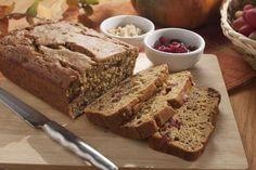 This homemade bread features some of your favorite fall flavors, like cinnamon, walnuts, butternut squash, cranberries, and more. It's a delicious autumn bread!
