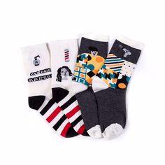 Fun Cartoon Couple Socks (2pc-set), 47% discount @ PatPat Mom Baby Shopping App