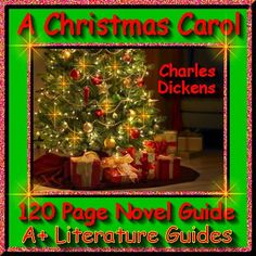 Free up your time with A Christmas Carol, a 120 page common-core aligned complete Literature Guide for the original, unabridged novel by Charles Dickens.  This novel study teaching unit has everything that you will need to teach and assess the novel. The Calendar explains the skills and activities for the day, and the weekly assessments are Common Core aligned and include all answer keys.