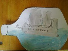 Výsledek obrázku pro loď v láhvi