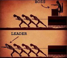 Boss vs #Leader