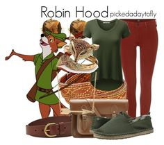 """""""Robin Hood"""" by pickedadaytofly ❤ liked on Polyvore featuring Lee, Kevin Jewelers, Frye, FOSSIL, Palm Beach Jewelry, The Cambridge Satchel Company, Sakroots, Fremada, disney and robinhood"""