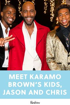 Meet Karamo Brown's Kids, Jason and Chris brown eye Celebrity Outfits, Celebrity News, Celebrity Style, Rachel Brown, Chris Brown, Mommy And Me, Mom And Dad, Name Inspiration, Daily Inspiration