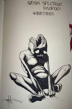 Dibujos qué representan enfermedades y trastornos mentales - Taringa!