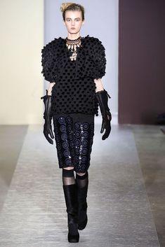 marni 2010 | Marni Fall 2010 | Fashion - Black | Pinterest