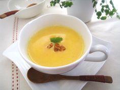 【朝スープ】にんじん豆乳ポタージュスープ。   美肌レシピ