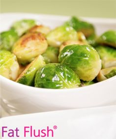 Brussels Sprouts with Curry- Official Fat Flush Recipe