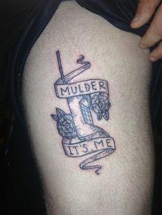 funny x files tattoo | Tumblr