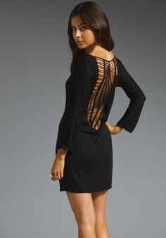 INDAH Stardust Dress in Black at Revolve Clothing - Free Shipping!