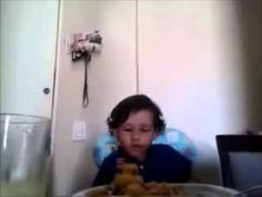 Three year old kid explains why he doesn´t want to eat meat.  Please oh please don't get taken down.  My favorite video of all time.  - LW