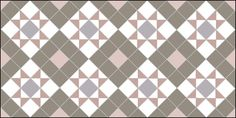 Autumn Patterns evoking the Scottish Highlands.  Box and Star design- four colour