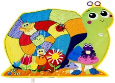 Lamaze Lay And Play Activity Mat - This colorful playmat offers baby an engaging and soft surface while playing on the floor. With 38 inches of space, the playmat is full of stimulating textures and activities for baby to explore. The ... - Baby Gyms & Playmats - Baby - $19.38