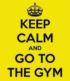 Keep Calm #exercise