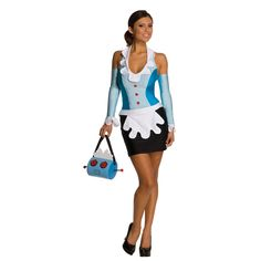 Wonder if this could be recreated (in athletic fabrics) for an awesome 80s run.... The Jetsons - Rosie The Maid Adult Costume