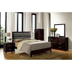 Furniture Of America Janine 4 Piece Bedroom Set Las Vegas Furniture Online   LasVegasFurnitureOnline   Lasvegasfurnitureonline.com