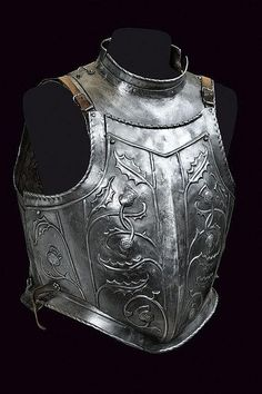 A cuirass, possibly Scottish (because of the thistles). Europe, circa 19th century.