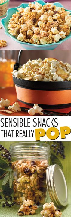 When it's snack time, go for a great-tasting option that delivers both flavor and nutrition, such as one of these popcorn recipes.