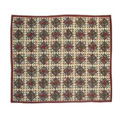 Patch Magic Xmas Sparkle Quilt Queen 85 inchX 95 inch